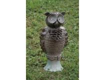 Sova z keramiky