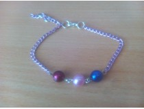 náramek s perličkami